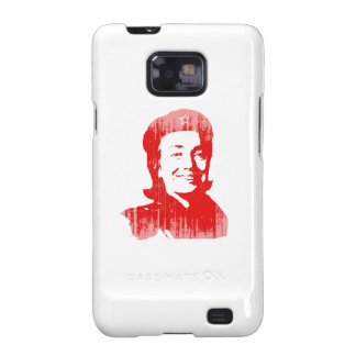 Red Hillary Faded.png Galaxy SII Cases