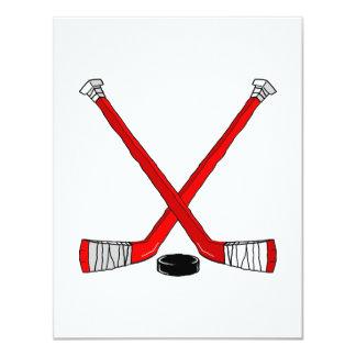 Red Hockey Card