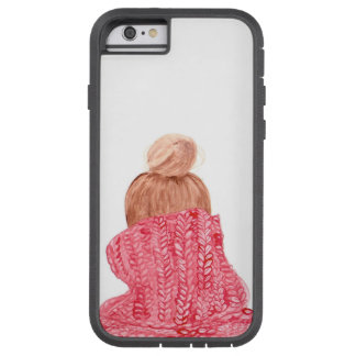 Red Holiday/Winter Sweater iPhone Case