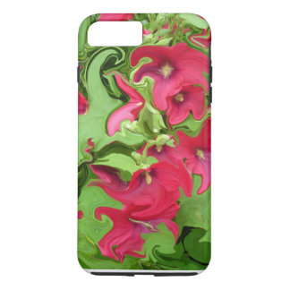 Red Hollyhock Design Samsung Galaxy 6s Cover