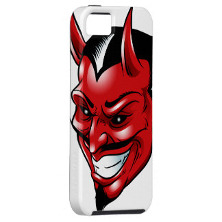 Red Horned Demon iPhone 5 Covers