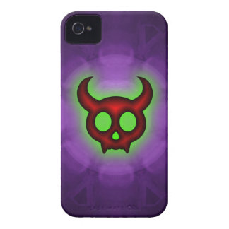 Red Horned Devil Blackberry Bold Barely There Case iPhone 4 Case