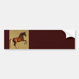 RED HORSE BUMPER STICKER
