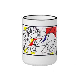 Red Horseman Mugs