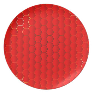 Red Hot Background Plate