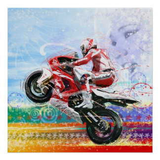 RED HOT BIKER POSTERS