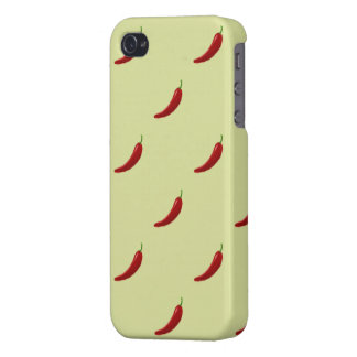 red hot chili pattern iphone 4 covers for iPhone 4