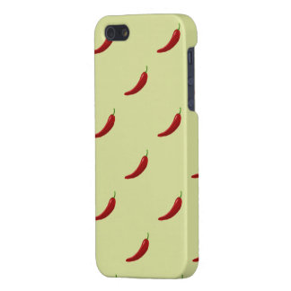 red hot chili pattern iphone 5 case for iPhone 5/5S