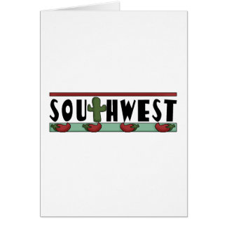 Red Hot Chili Peppers - American Southwest Note Card