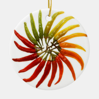 Red Hot Chili Peppers Round Ceramic Decoration
