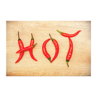Red Hot Chili Peppers Word Canvas