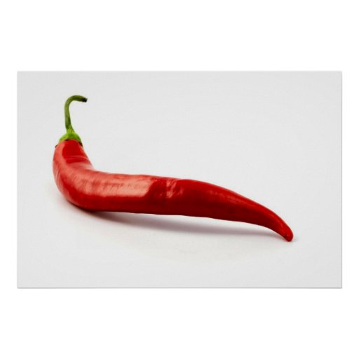 Red Hot Chilli Pepper Poster