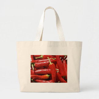 Red hot chilli peppers large tote bag