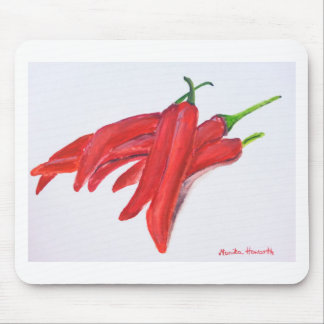 Red hot chilli peppers mouse pad