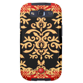 Red Hot Damask Night Club Baroque Samsung Galaxy SIII Case