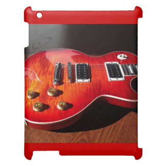 Red Hot Electric Guitar Case iPad Cover