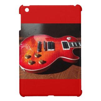 Red Hot Electric Guitar Case iPad Mini Cover