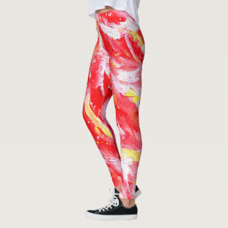 Red Hot Flame Leggings