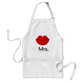 Red hot lips and mrs. standard apron