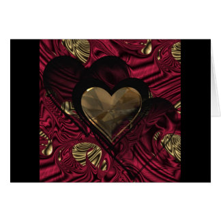 """""""Red Hot Love""""* Greeting Card"""