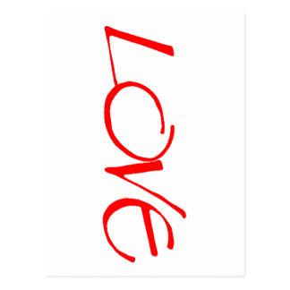 Red Hot Love Postcard
