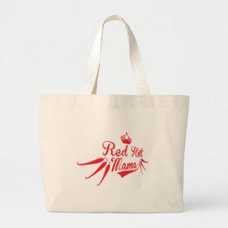 Red Hot Mama Jumbo Tote Bag