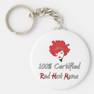 Red Hot Mama Keychains