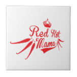 Red Hot Mama Small Square Tile