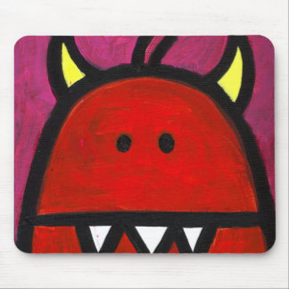 Red Hot Monster Mouse Mat