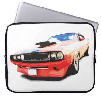 Red Hot Muscle Laptop Sleeve
