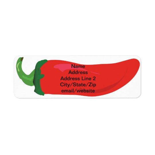 Red Hot Pepper 5 Line