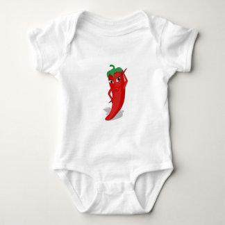 Red Hot Pepper Diva Baby Bodysuit