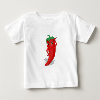 Red Hot Pepper Diva Baby T-Shirt