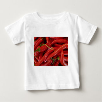 Red Hot Peppers Baby T-Shirt