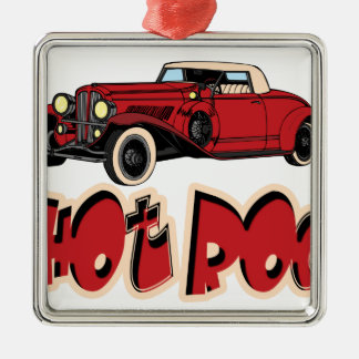 Red Hot Rod Christmas Ornament
