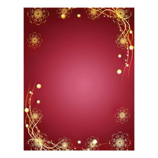 Red Hot Romance with Fireworks 21.5 Cm X 28 Cm Flyer