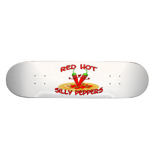 Red Hot Silly Peppers 20.6 Cm Skateboard Deck