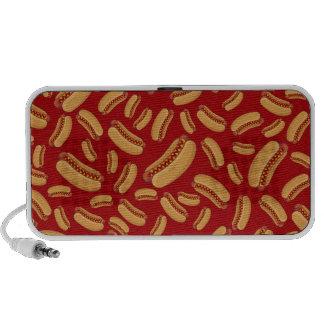 Red hotdogs speakers