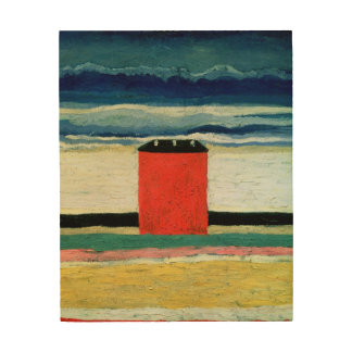 Red House, 1932 2 Wood Wall Art