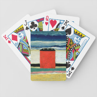 Red House, 1932 Bicycle Playing Cards