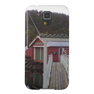 Red house bye the sea galaxy s5 cover