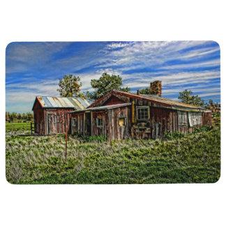 RED HOUSE FLOOR MAT