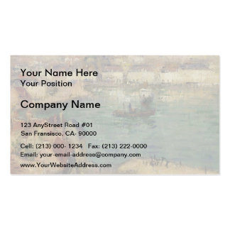 Red House near Port Marly by Gustave Loiseau Business Card Template