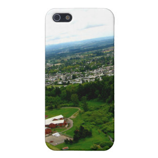 Red Houses iPhone 5/5S Cover