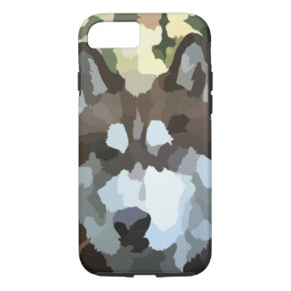 "Red Husky ""Splotch-ilisim"" Case"
