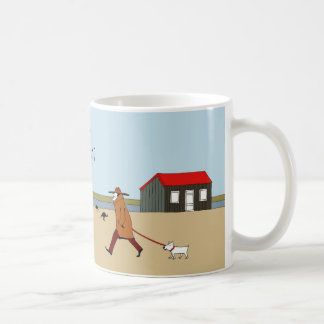 Red Hut in Rye Harbour Coffee Mug