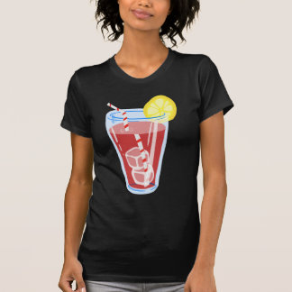 Red Iced Tea Tee Shirts