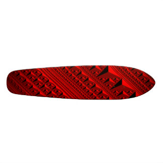 Red Inception Skateboard Deck