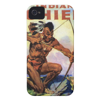 Red Indian iPhone 4 Case