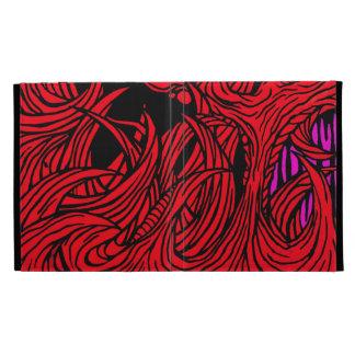 red ipad folio case